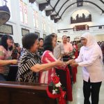 Perayaan Natal di Jatim Aman, Khofifah Ucapkan Terima Kasih