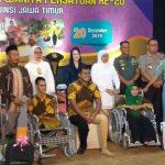 Pemprov Jatim Terus Upayakan Aksesibilitas Penyandang Disabilitas