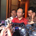 Mahfud MD : Aturan Hukuman Mati Bagi Koruptor Sudah Ada Dalam Undang-Undang Tipikor