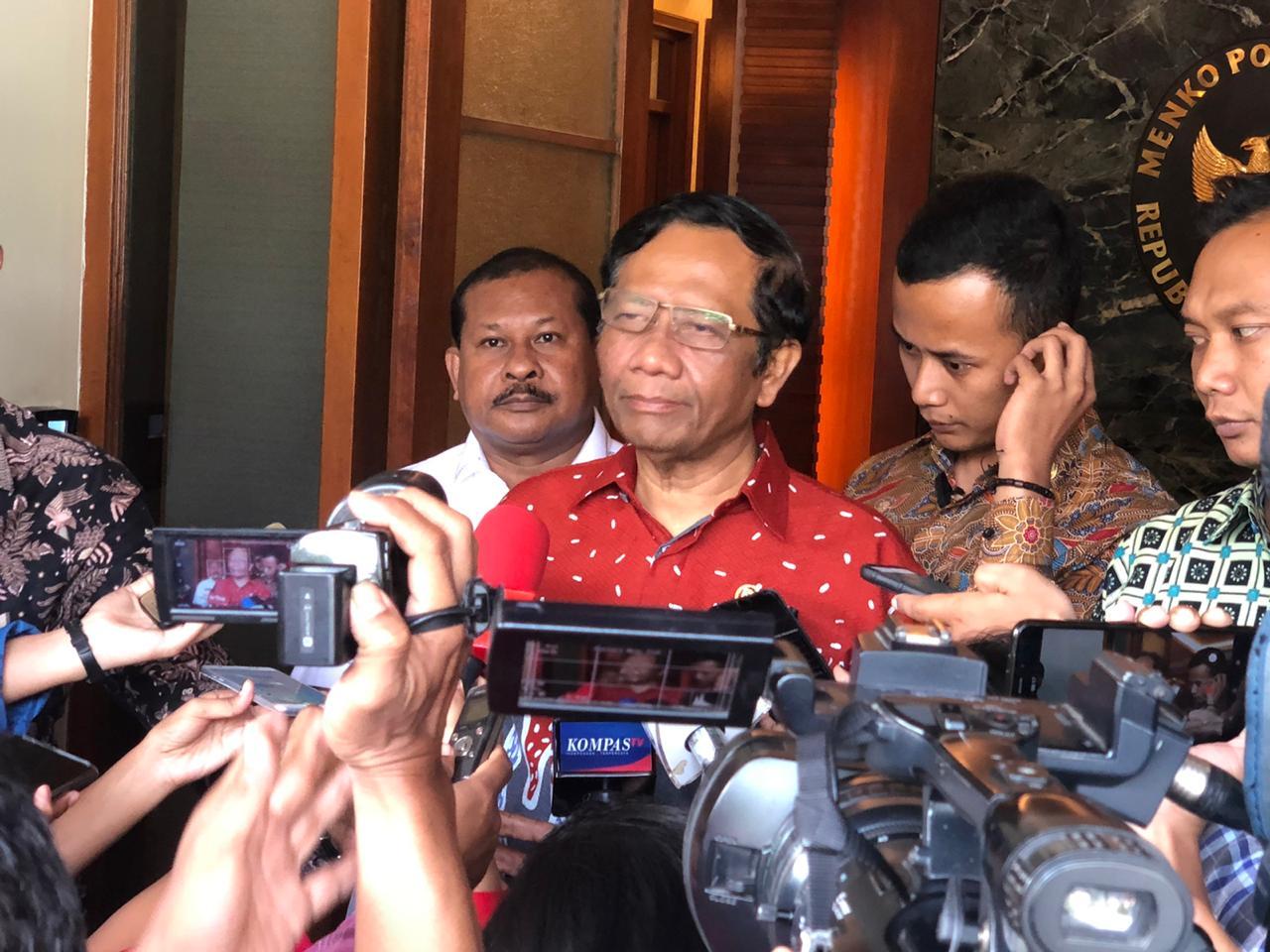 Mahfud MD Imbau Penegak Hukum Penuhi Kepastian Hukum dan Keadilan
