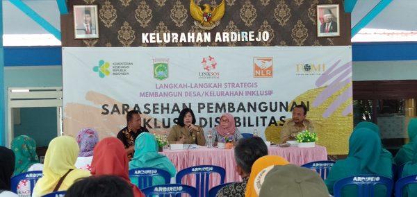 Kelurahan Ardirejo Malang Canangkan sebagai Rintisan Kelurahan Inklusif