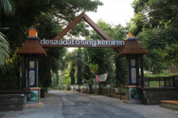 Desa Kemiren Banyuwangi Raih Penghargaan Desa Wisata Maju dari Kemendes PDTT