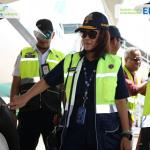 Polana Lakukan Monitoring Angkutan Nataru di Bandar Udara El Tari Kupang