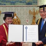 Megawati Terima Gelar Doktor Honoris Causa dari Universitas Soka