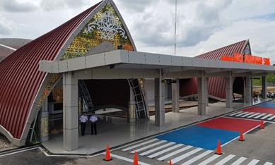 Bandar Udara Haji Muhammad Sidik Siap Beroperasi