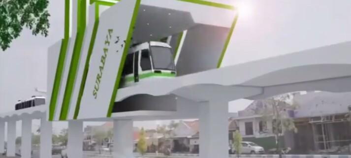Pemprov Jatim Roadshow ke Kemenko Perekonomian Bahas Pembangunan LRT dan MRT di Kawasan Gerbang Kartasusila