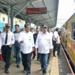 Menhub Komitmen akan Persingkat Waktu Tempuh Perjalanan KA Lintas Jakarta – Merak