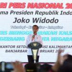 Presiden : Ekosistem dan Industri Pers Harus Berjalan Sehat