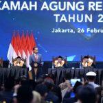 Presiden Dukung Upaya Peningkatan Kualitas Peradilan MA