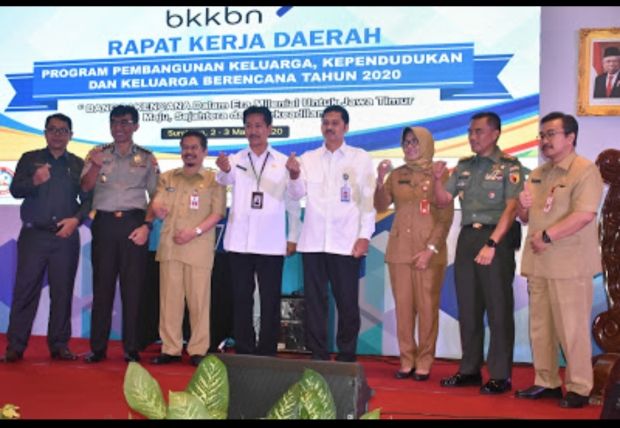 BKKBN Jatim Launching Command Centre Bangga Kencana