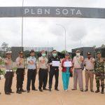 TNI-Polri dan Unsur CIQ PLBN Sota Cegah Virus Corona di Perbatasan