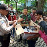 Jurnalis Peduli Corona Buat dan Bagikan Hand Sanitizer pada Masyarakat