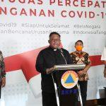 Gereja Katolik Indonesia Berikan Dukungan Terkait Penanganan Covid-19