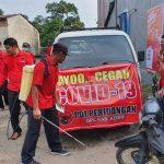 Kader Banteng Kediri, Gelar Penyemprotan Disinfektan