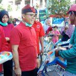PDI Perjuangan bersama Pemkab dan BPBD Banyuwangi Gelar Penyemprotan Disinfektan