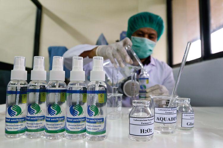 Pembuatan Hand Sanitizer secara Mandiri Harus Sesuai Ketentuan