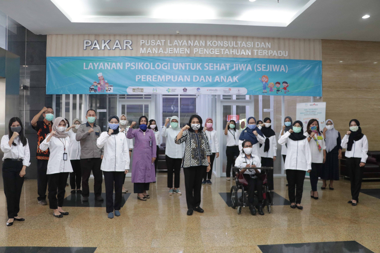 SEJIWA, Lindungi Psikologi Perempuan dan Anak saat Pandemi Covid-19