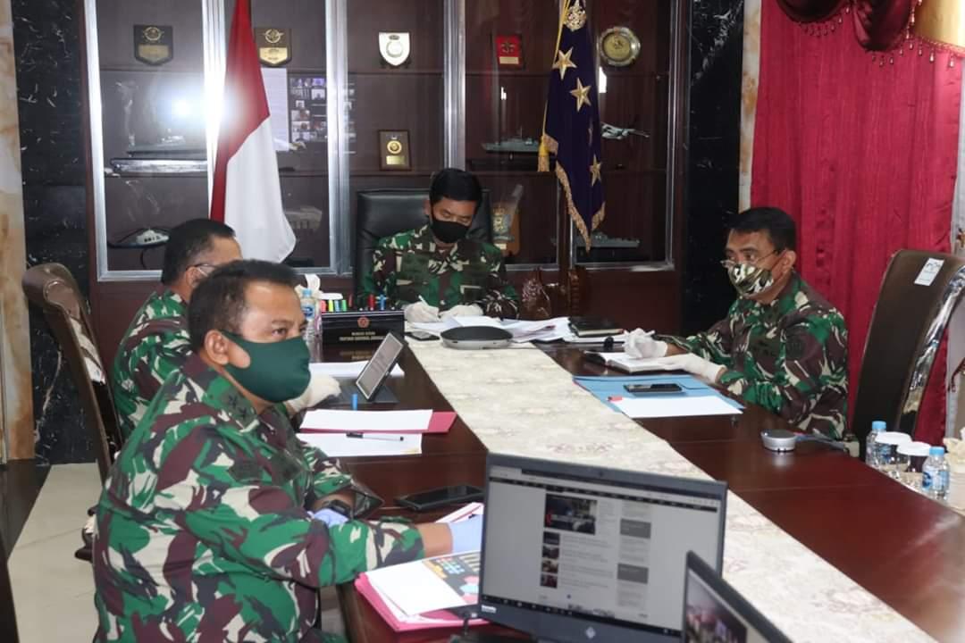 Personel dan Alutsista TNI Dikerahkan Dukung PenangananCovid-19