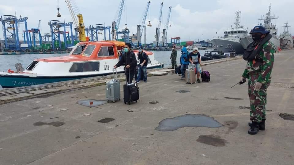 57 WNI ABK MV Artania dari Australia Tiba di Jakarta