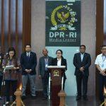 DPR RI Terima Rancangan UU Tentang Penetapan Perppu No 1 Tahun 2020
