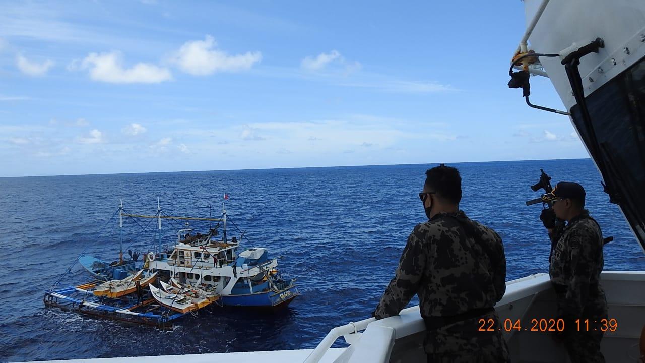 KKP Tangkap Kapal Asing Ilegal Asal Filipina dan Taiwan