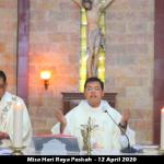 Misa Paskah di Rumah, Perjumpaan Pribadi dengan Keluarga dan Tuhan Lebih Terasa