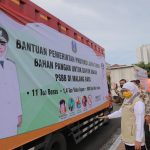 Pemprov Jatim Kirimkan Bahan Pangan untuk Dapur Umum di PSBB Malang Raya