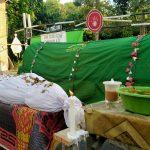Pocong dan Keranda Mayat Ingatkan Masyarakat agar di Rumah Aja
