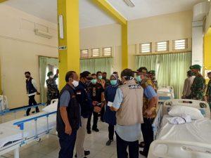 Sekdaprov Jatim dan Pangdam V Brawijaya Tinjau Kesiapan RS Darurat Covid-19