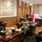 Bertemu Ketua KPK, Mahfud MD Dorong Penegakan Hukum Terus Dilakukan