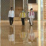 Presiden Tinjau Kesiapan Kenormalan Baru di Masjid Istiqlal