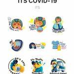 Lewat Stiker WhatsApp, ITS Kampanyekan Pencegahan Covid-19