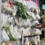 Cegah Covid-19, Pembagian Paket Sayur Gratis di Kediri Dihentikan Sementara