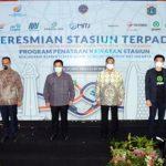 Stasiun Terpadu di Jakarta Diresmikan
