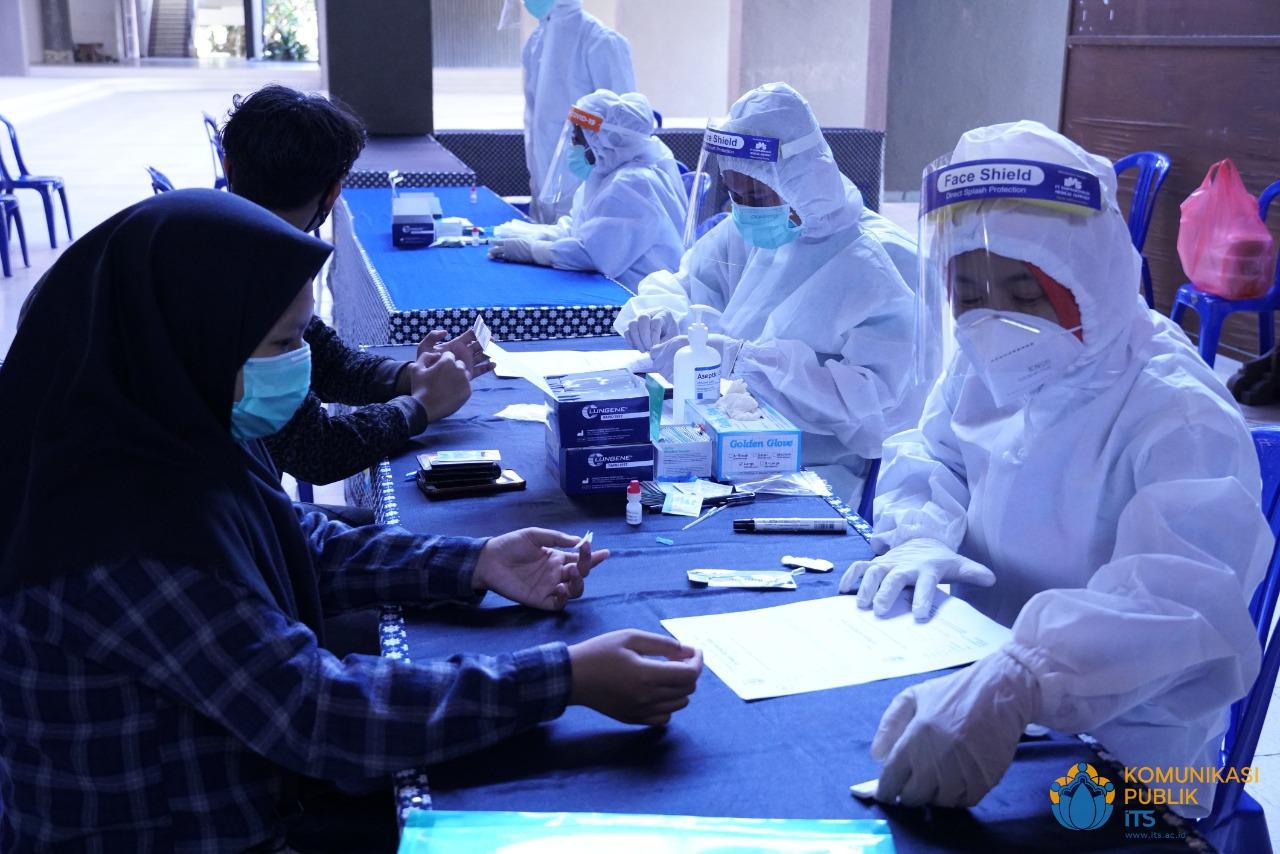 ITS Kembali Siapkan Rapid Test Gratis Pada UTBK Tahap Kedua