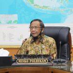 Mahfud MD Koordinasikan Penegakan Hukum Penanganan Covid-19