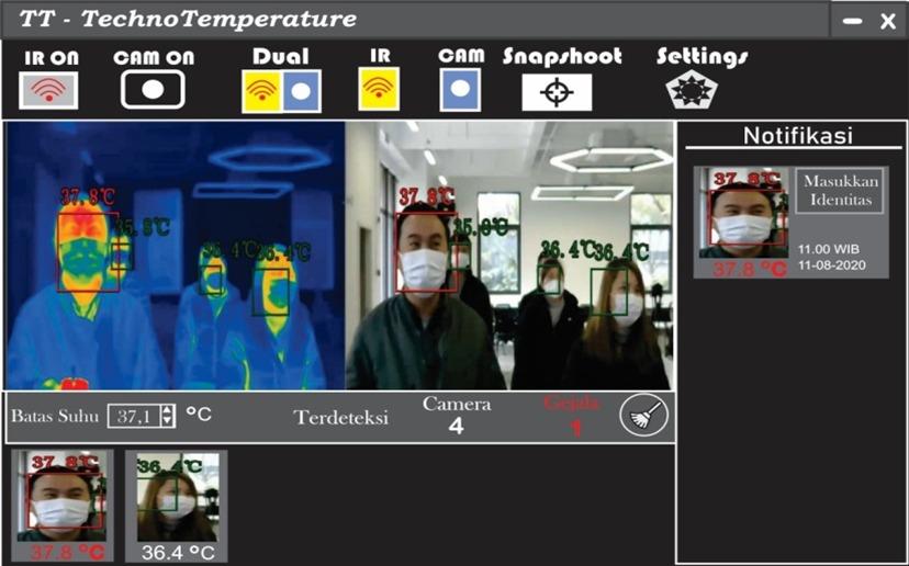 Mahasiswa ITS Ciptakan Inovasi Detektor Suhu Terintegrasi