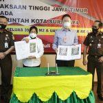 Kejati Jatim dan Pemkot Surabaya Kembali Selamatkan Aset Senilai Rp 61 Miliar