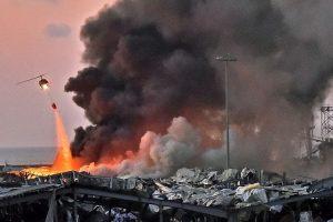 Seorang WNI Luka Ringan Akibat Ledakan di Beirut