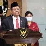 Mahfud MD Tunjuk Benny Mamoto Jadi Ketua Harian Kompolnas