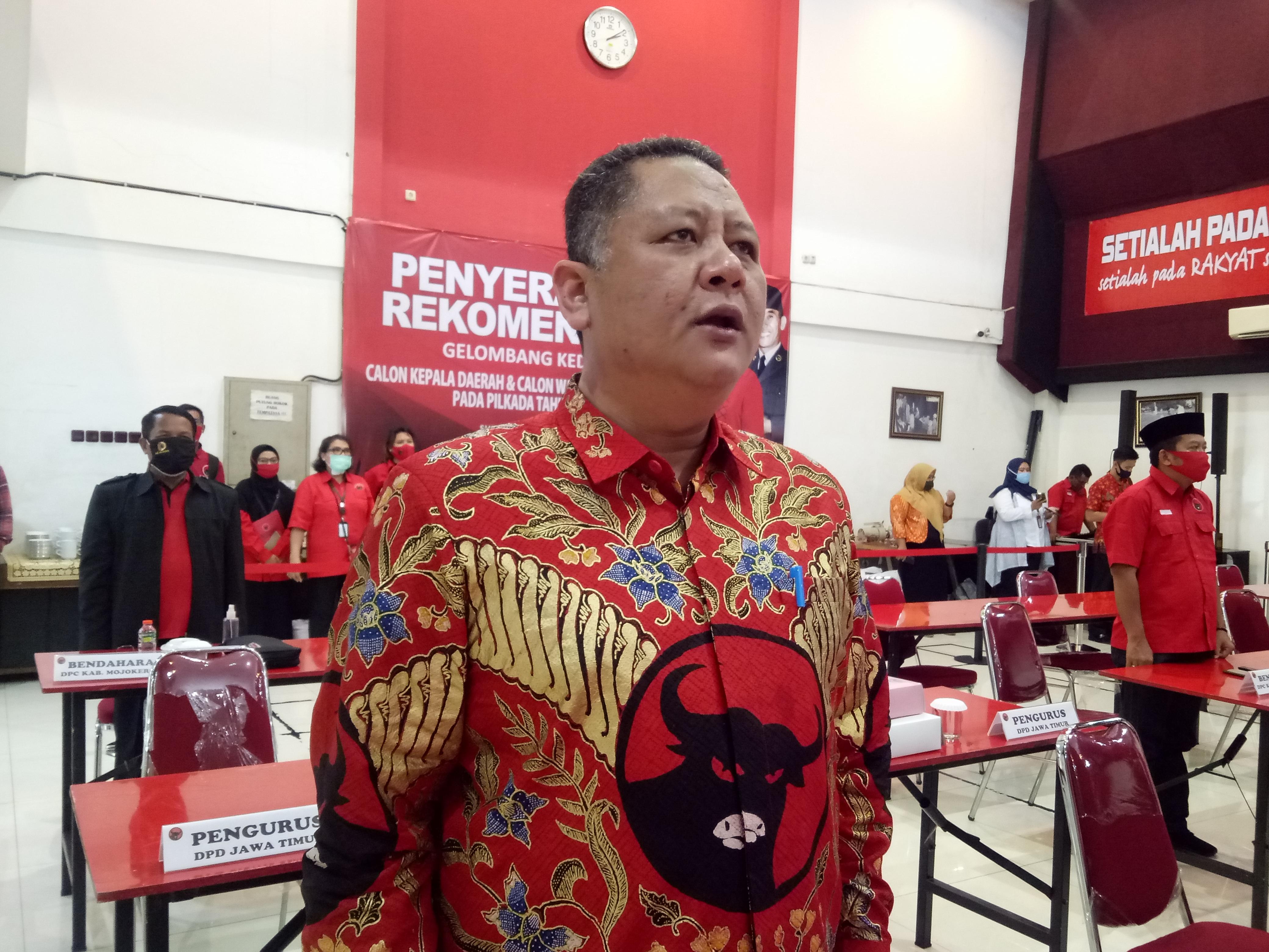 Purnatugas, Whisnu Sakti Mengabdi untuk PDI Perjuangan