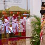 Dua Pesan Jokowi untuk Gerakan Pramuka di Tengah Pandemi