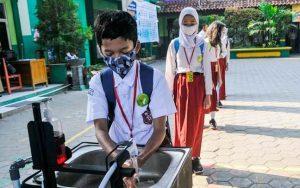 Begini Persiapan Pembelajaran Tatap Muka di Jawa Timur