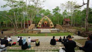 Amfiteater Osing, Sarana Atraksi Baru di Perkebunan Coklat Banyuwangi