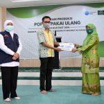 Khofifah Apresiasi Kolaborasi Muslimat NU Surabaya dengan Common Seas Atasi Sampah Popok