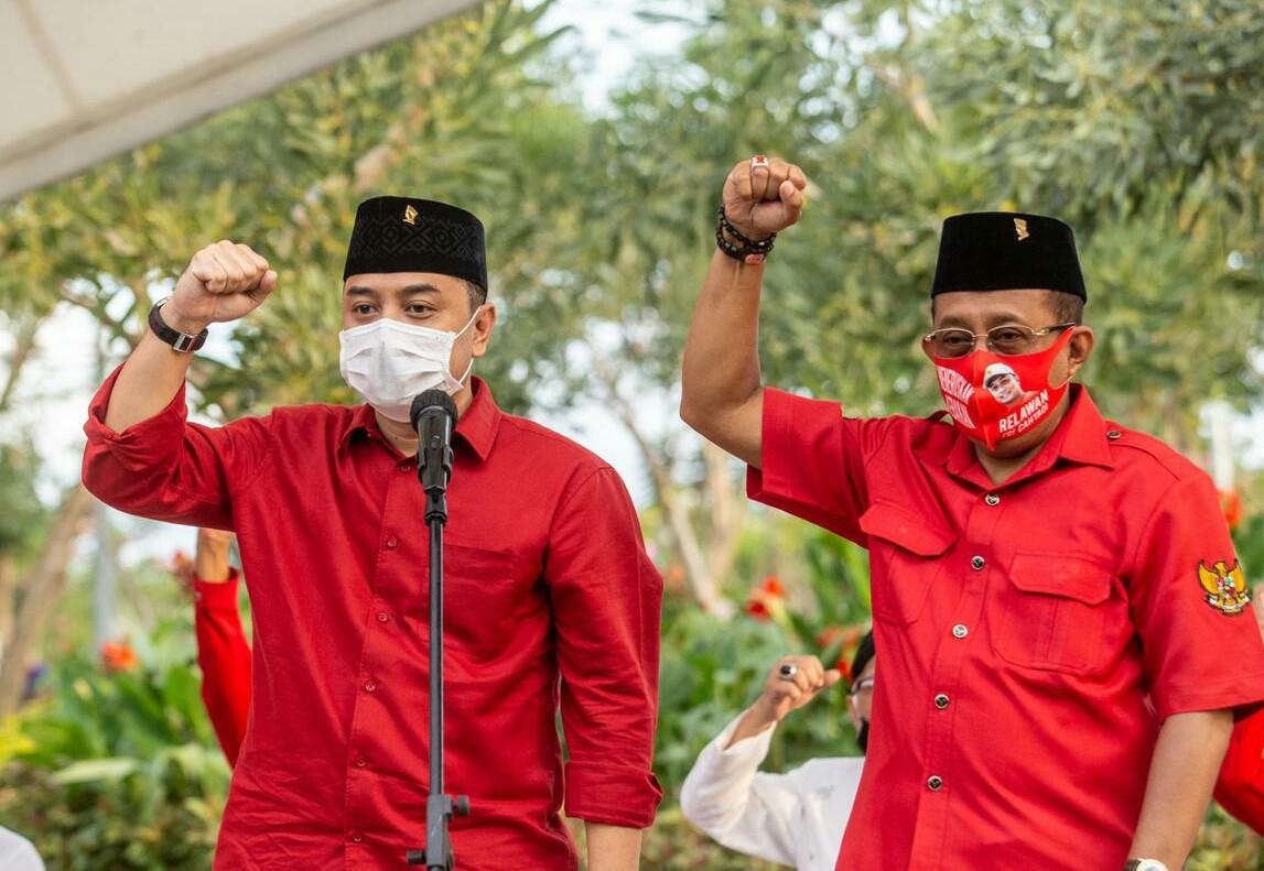 Whisnu Sakti akan Dampingi Eri-Armuji Daftar ke KPU Surabaya