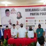 Dito Kenakan Sepatu Taufik Kiemas saat Mendaftar ke KPU Kabupaten Kediri
