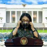 Menteri Bintang Sosialisasikan 3M di Lingkungan Keluarga