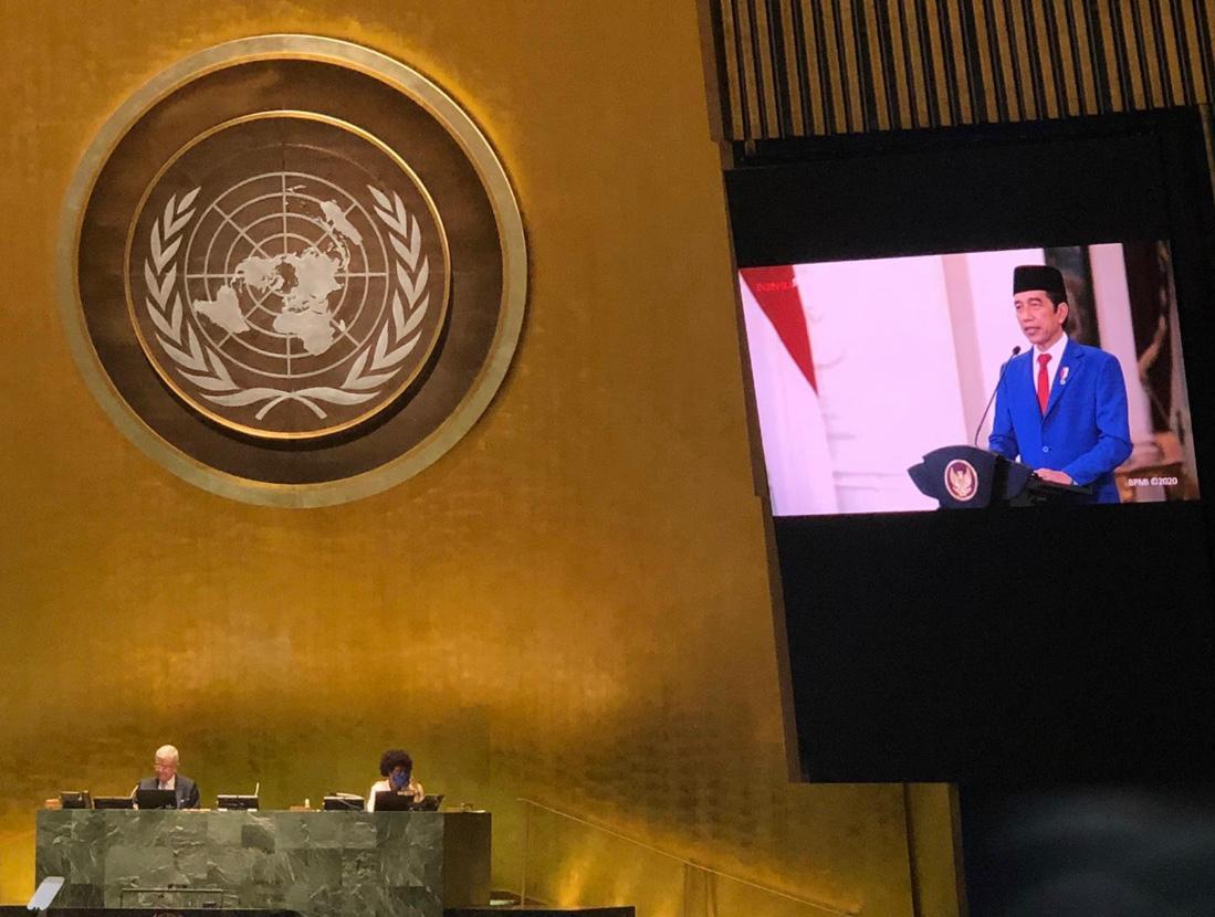 Tiga Pemikiran Jokowi saat Pidato di Sidang Umum ke-75 PBB