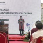 Risma Resmikan Labkesda, Tempat Tes Swab Gratis bagi Warga Surabaya
